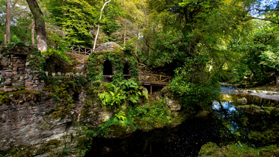 Tollymore Forset, Hermitage