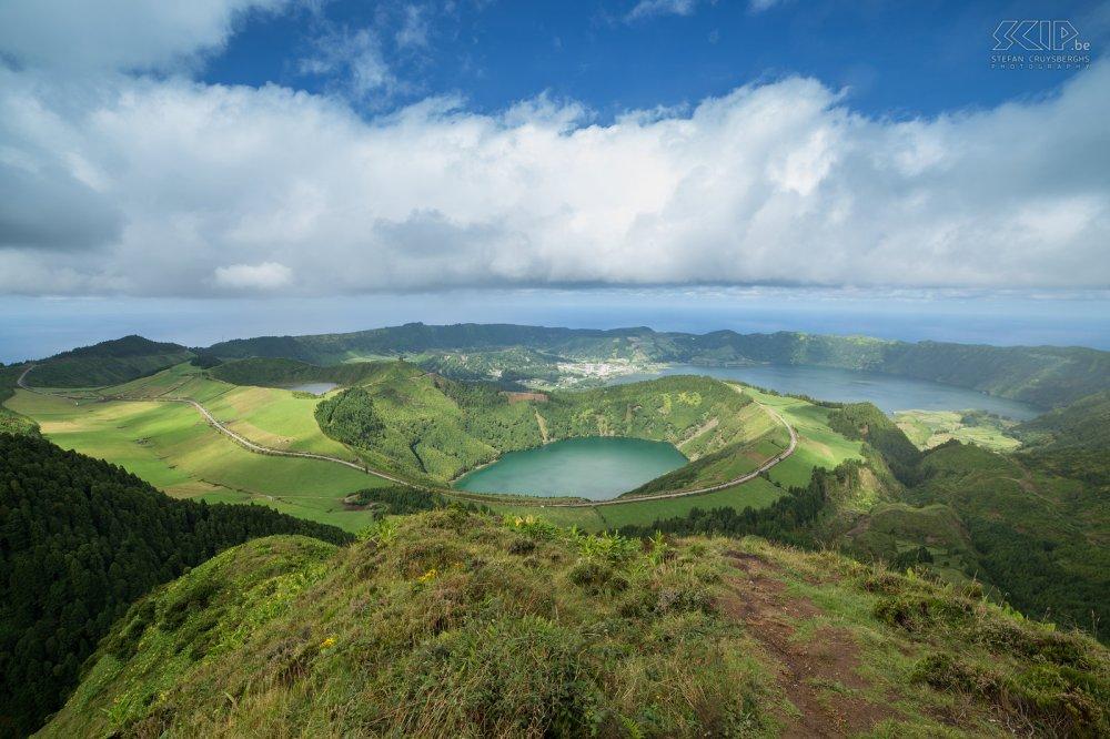 Azoren - Sete Cidades - Miradouro da Boca do Inferno